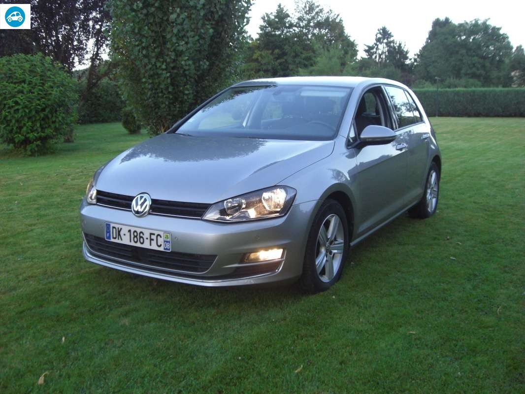 achat volkswagen golf carat 1 6 tdi dsg 7 2013 d 39 occasion pas cher 19 000. Black Bedroom Furniture Sets. Home Design Ideas