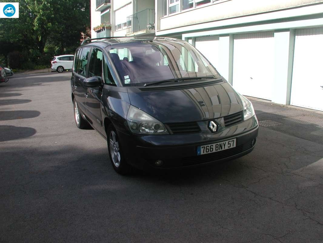 achat renault espace privil ge 2005 d 39 occasion pas cher 2 800. Black Bedroom Furniture Sets. Home Design Ideas