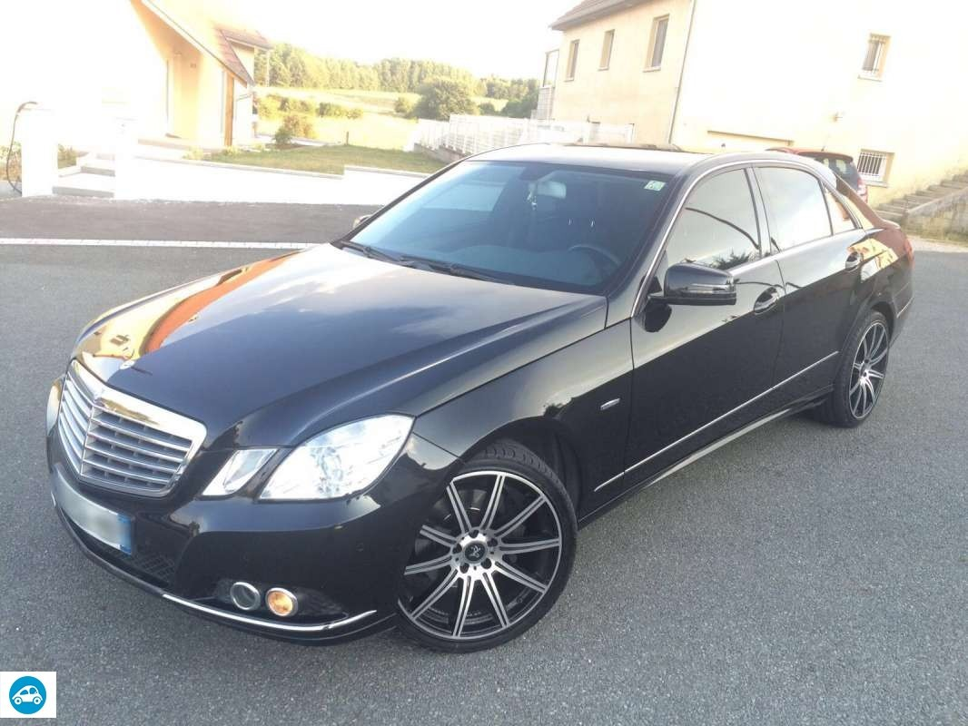 achat mercedes classe e 350 cdi 2009 d 39 occasion pas cher 19 900. Black Bedroom Furniture Sets. Home Design Ideas
