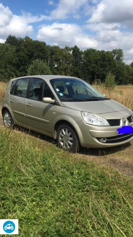 achat renault scenic ii phase ii 1 5 dci 2007 d 39 occasion pas cher 2 800. Black Bedroom Furniture Sets. Home Design Ideas