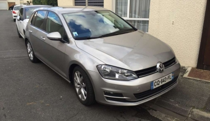 Golf VII Finition Carat 1.2 DSG7 2013