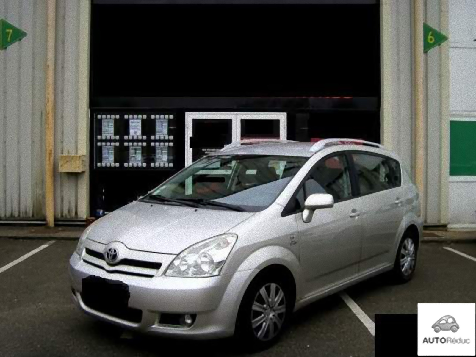 achat toyota corolla verso 2 0 115ch d 39 occasion pas cher 3 800. Black Bedroom Furniture Sets. Home Design Ideas