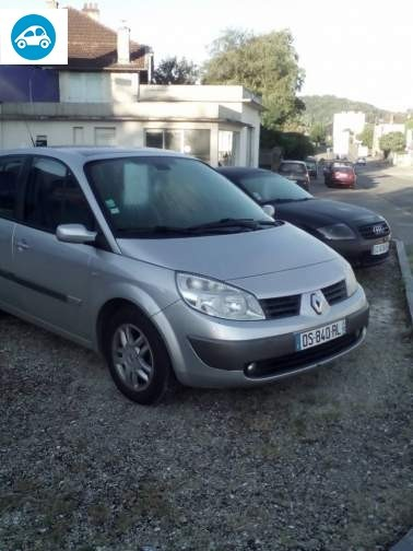 achat renault scenic 1 9 dci 2005 d 39 occasion pas cher 2 500. Black Bedroom Furniture Sets. Home Design Ideas