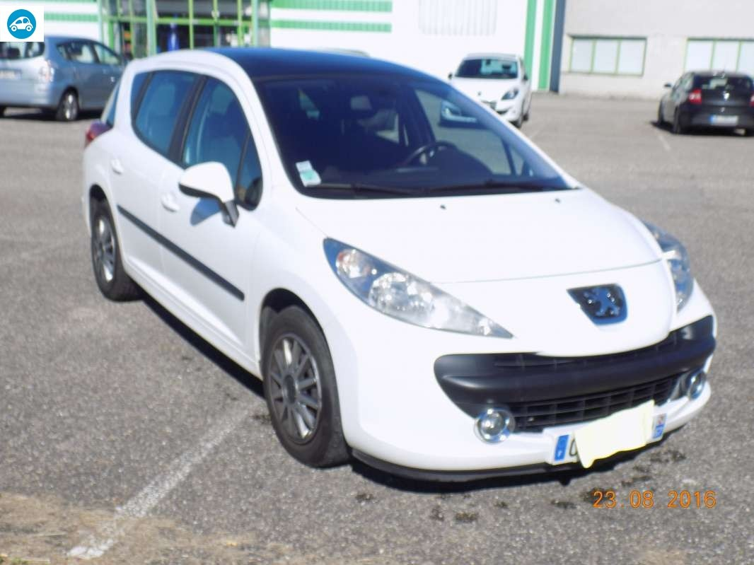 achat peugeot 207 sw premium 2007 d 39 occasion pas cher 4 200. Black Bedroom Furniture Sets. Home Design Ideas