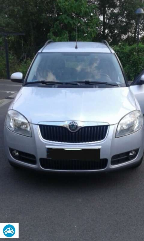 achat skoda roomster 1 4 tdi 2008 d 39 occasion pas cher 5 600. Black Bedroom Furniture Sets. Home Design Ideas
