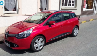 Clio IV Estat Red 2014