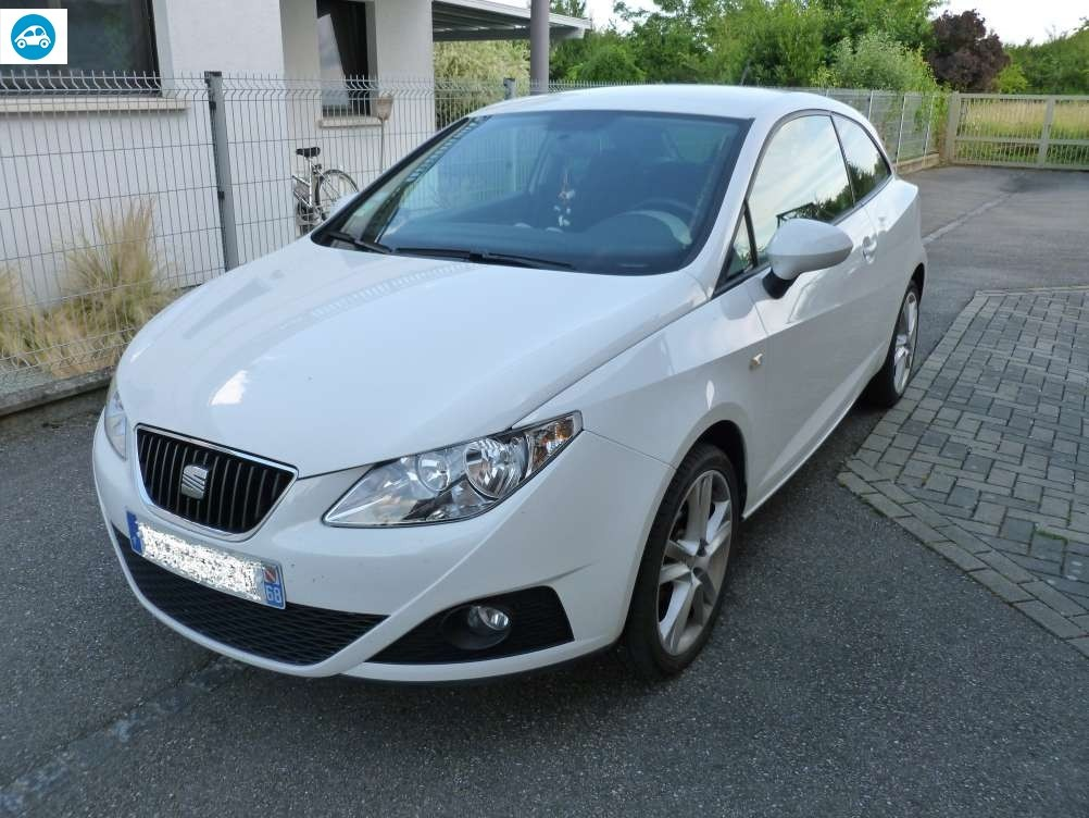 achat seat ibiza 1 6 l sport 2010 d 39 occasion pas cher 7 000. Black Bedroom Furniture Sets. Home Design Ideas