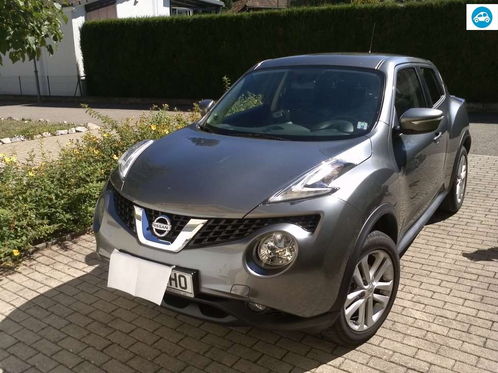 achat nissan juke acenta 2015 d 39 occasion pas cher 15 000. Black Bedroom Furniture Sets. Home Design Ideas