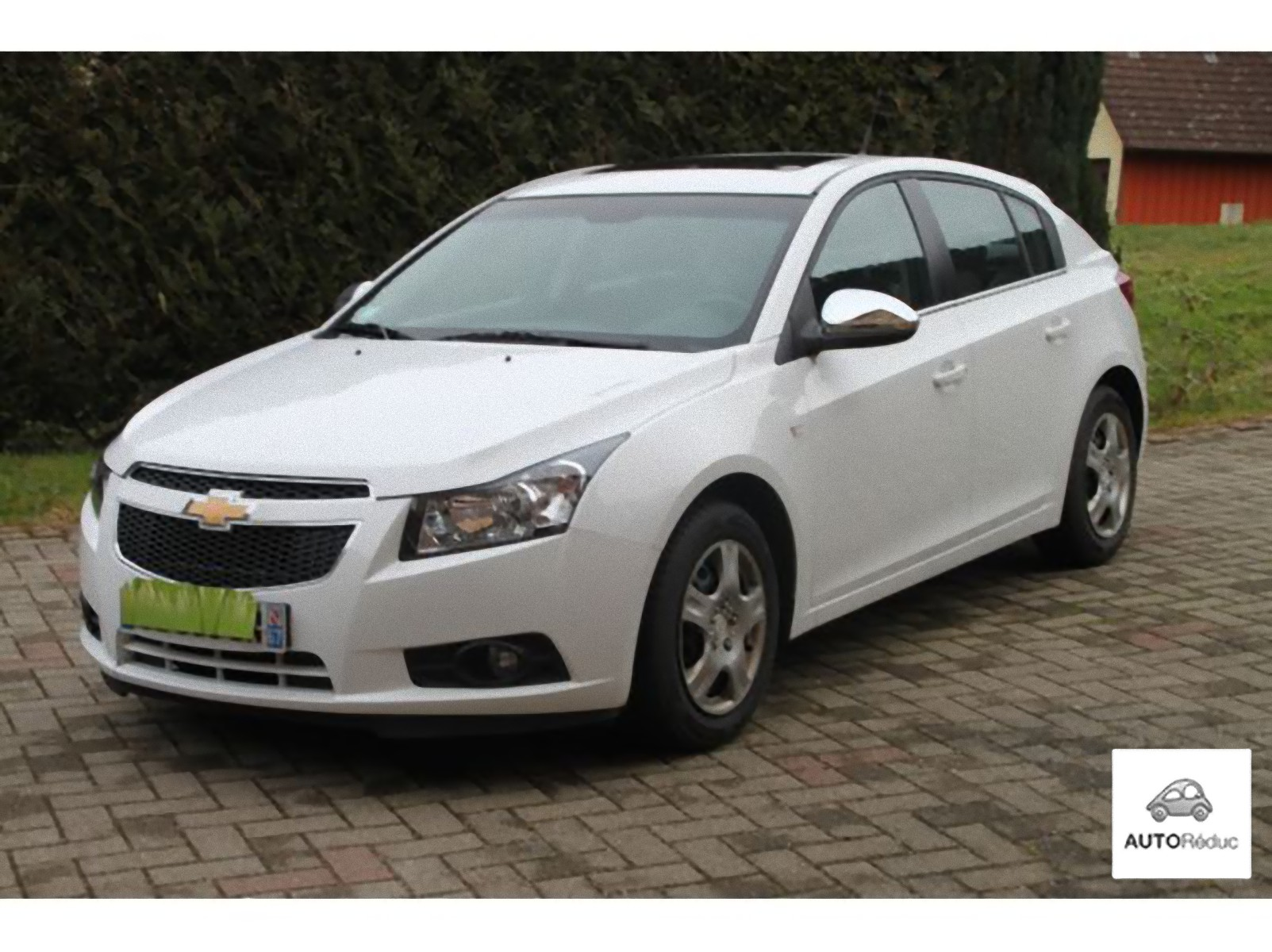 achat chevrolet cruze ltz 2 0l cdti 163cv d 39 occasion pas. Black Bedroom Furniture Sets. Home Design Ideas