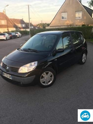 achat renault scenic ii 2005 d 39 occasion pas cher 3 500. Black Bedroom Furniture Sets. Home Design Ideas
