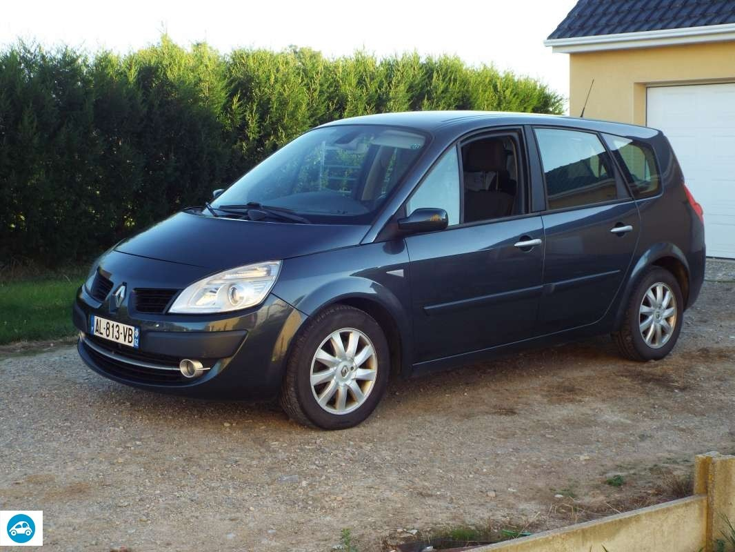 achat renault grand scenic ii 1 9 dci 2007 d 39 occasion pas cher 5 000. Black Bedroom Furniture Sets. Home Design Ideas