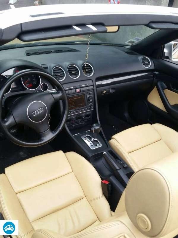 Achat Audi A4 Cabriolet 3 0 Quattro Tiptronic 2005 D Occasion Pas Cher 224 7 500