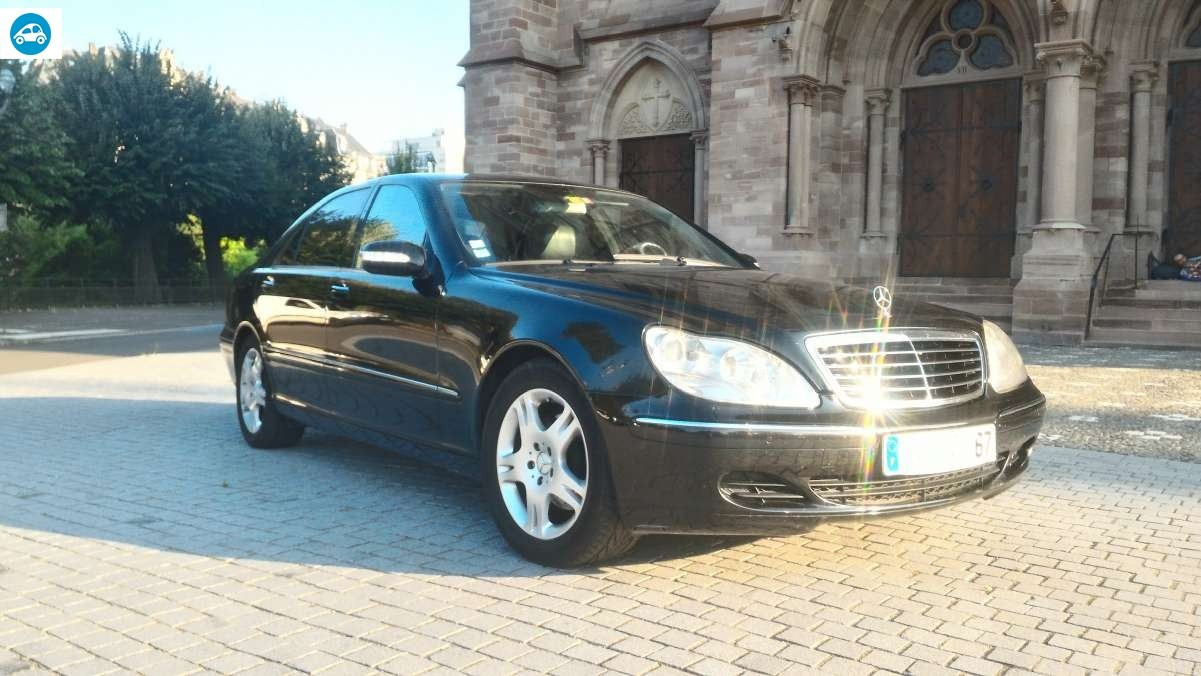 achat mercedes classe s 350 l 3 7 i 2003 d 39 occasion pas cher 12 900. Black Bedroom Furniture Sets. Home Design Ideas