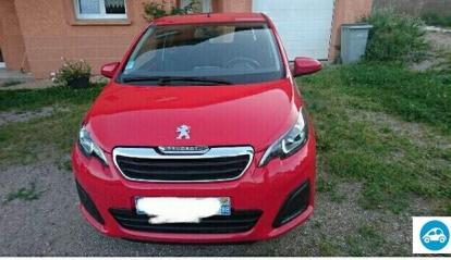 Peugeot 108 Active 1.2 L 2015