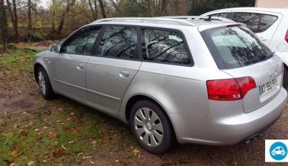 Audi A4 Break Grise 2L 2005