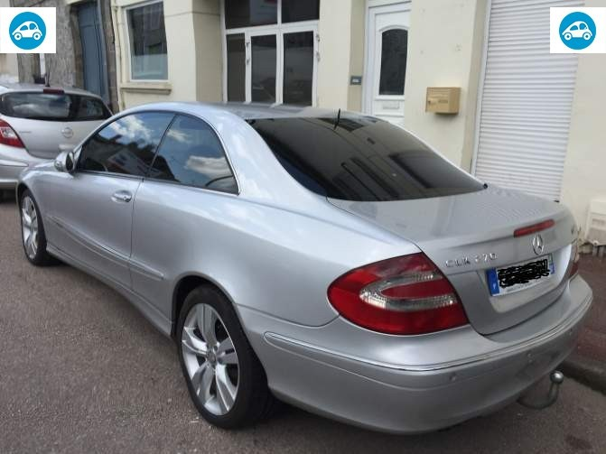 achat mercedes clk 270 cdi 2003 d 39 occasion pas cher 5 000. Black Bedroom Furniture Sets. Home Design Ideas