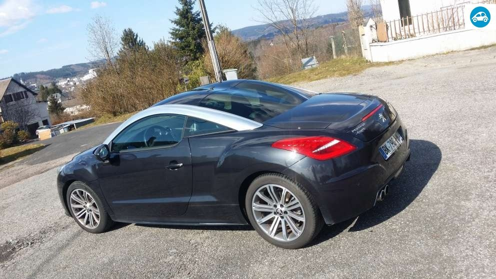 achat peugeot rcz 1 6 htp 2011 d 39 occasion pas cher 13 800. Black Bedroom Furniture Sets. Home Design Ideas