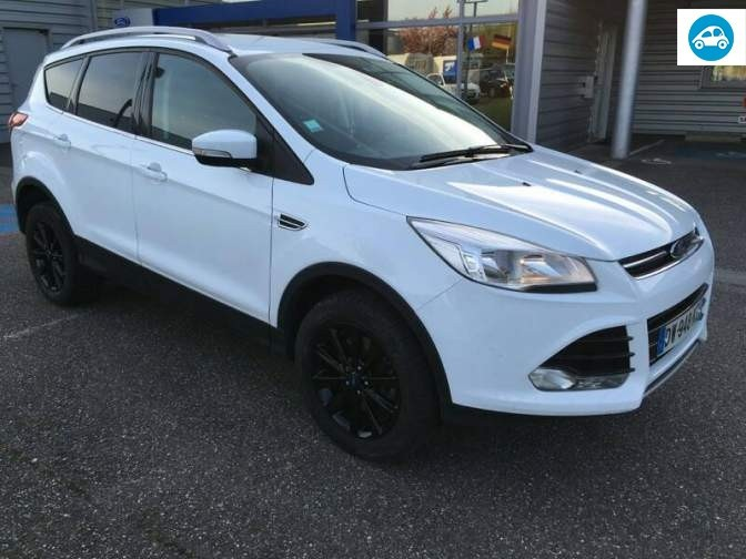 achat ford kuga titanium 2015 d 39 occasion pas cher 23 000. Black Bedroom Furniture Sets. Home Design Ideas