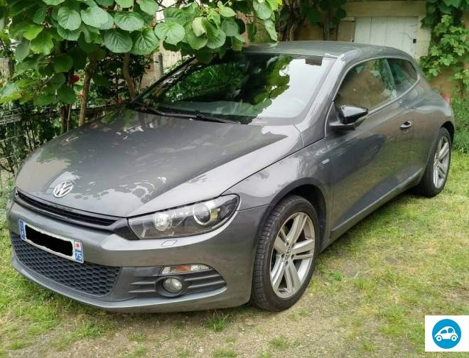 achat volkswagen scirocco 2 0 tdi sportline match 2013 d 39 occasion pas cher 16 900. Black Bedroom Furniture Sets. Home Design Ideas