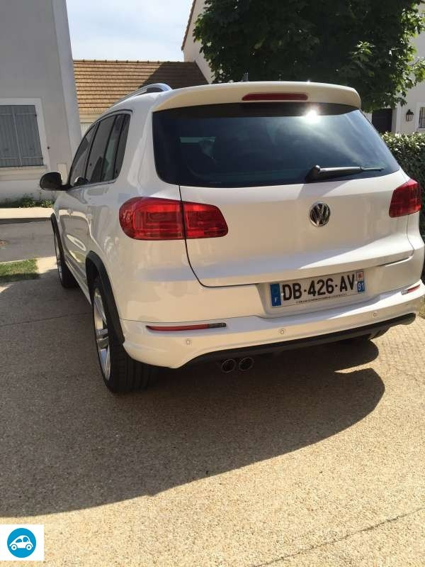 achat volkswagen tiguan 2 0 tdi 140 r line 2014 d 39 occasion pas cher 24 500. Black Bedroom Furniture Sets. Home Design Ideas