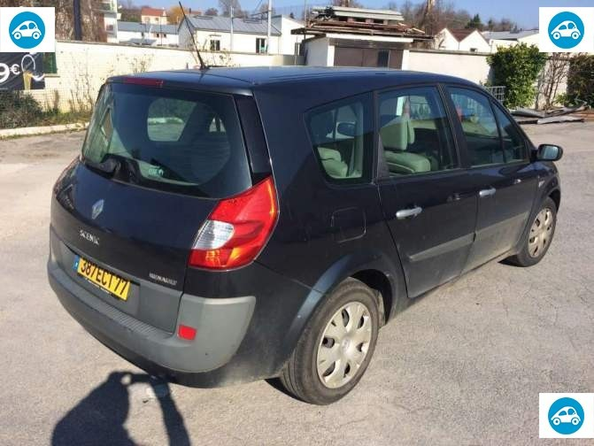 achat renault grand scenic 2 0 expression 2006 d 39 occasion pas cher 3 100. Black Bedroom Furniture Sets. Home Design Ideas