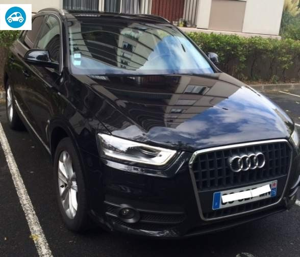achat audi q3 2 0 tdi ambition luxe 2012 d 39 occasion pas cher 17 800. Black Bedroom Furniture Sets. Home Design Ideas