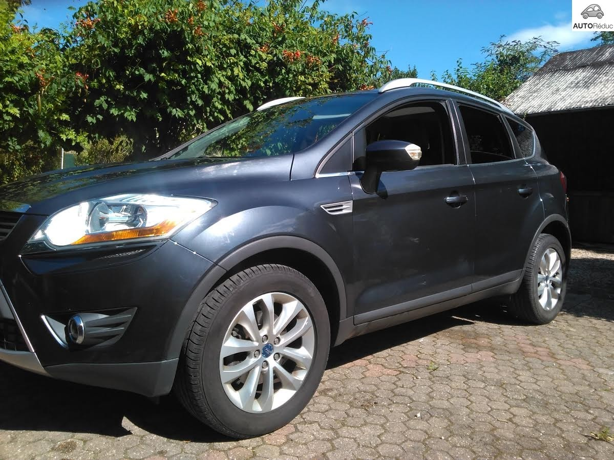 achat ford kuga 2 0 tdci 2008 d 39 occasion pas cher 10 000. Black Bedroom Furniture Sets. Home Design Ideas