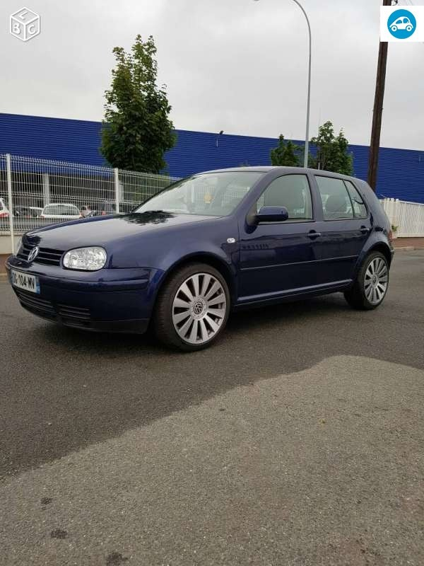 achat volkswagen golf iv tdi 1999 d 39 occasion pas cher 3 500. Black Bedroom Furniture Sets. Home Design Ideas
