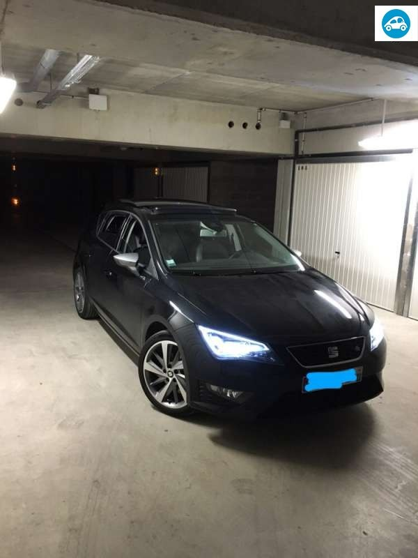 achat seat leon 3 1 4 l tsi 2013 d 39 occasion pas cher 19 000. Black Bedroom Furniture Sets. Home Design Ideas