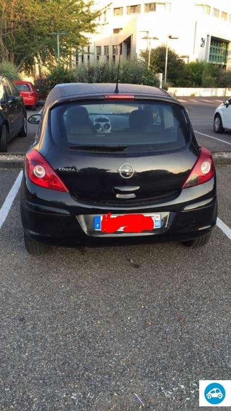 achat opel corsa 1 2 twinport essentia 2008 d 39 occasion pas cher 4 000. Black Bedroom Furniture Sets. Home Design Ideas