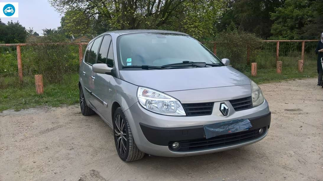 achat renault scenic ii 1 9 dci 2005 d 39 occasion pas cher 3 300. Black Bedroom Furniture Sets. Home Design Ideas
