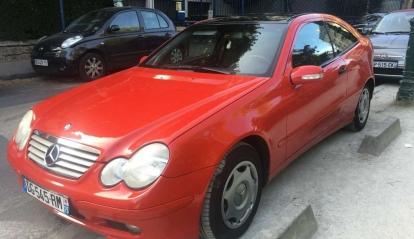 Mercedes Couper 2004