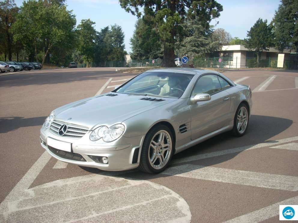achat mercedes sl 55 amg 2004 d 39 occasion pas cher 47 000. Black Bedroom Furniture Sets. Home Design Ideas