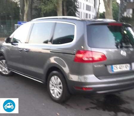 Volkswagen Sharan 2.0 TDI Bluemotion 2013