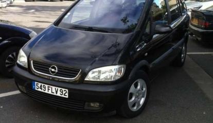 Opel Zafira 2.0 L DTI 2001