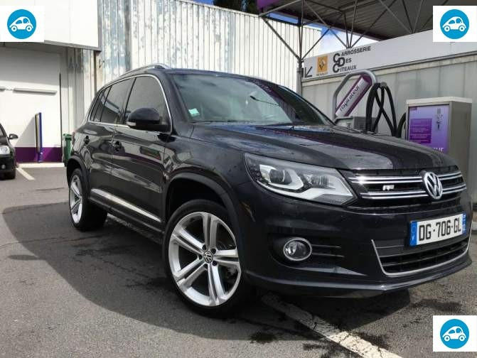 achat volkswagen tiguan r exclusive km 2014 d 39 occasion pas cher 29 500. Black Bedroom Furniture Sets. Home Design Ideas