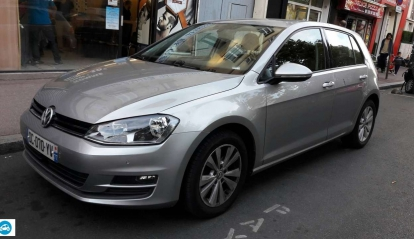 Volkswagen Golf II TDI Bluemotion 2014
