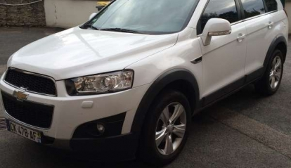 Chevrolet Captiva LT+ 2012