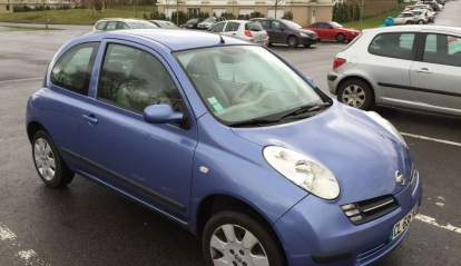 Nissan Micra Bleu Lavande 2005