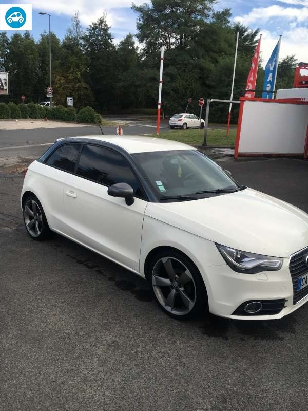 achat audi a1 1 6 tdi ambition luxe s tronic 2012 d 39 occasion pas cher 12 500. Black Bedroom Furniture Sets. Home Design Ideas