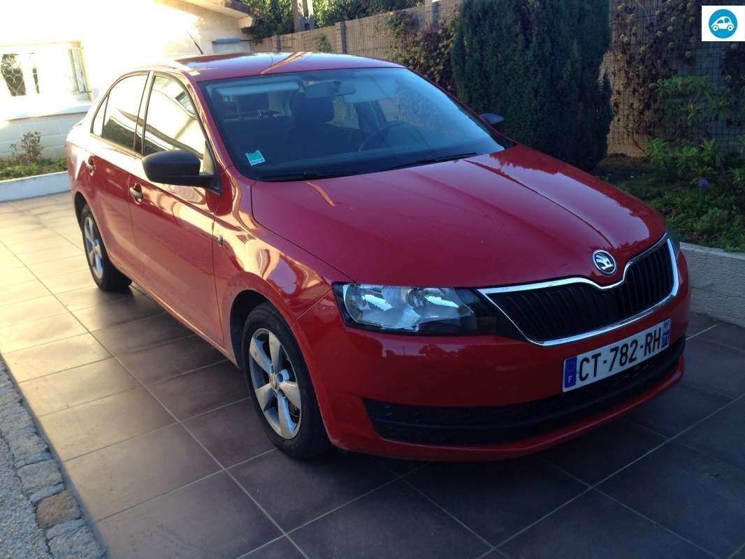 achat skoda rapid 1 6 tdi active 2013 d 39 occasion pas cher 9 000. Black Bedroom Furniture Sets. Home Design Ideas