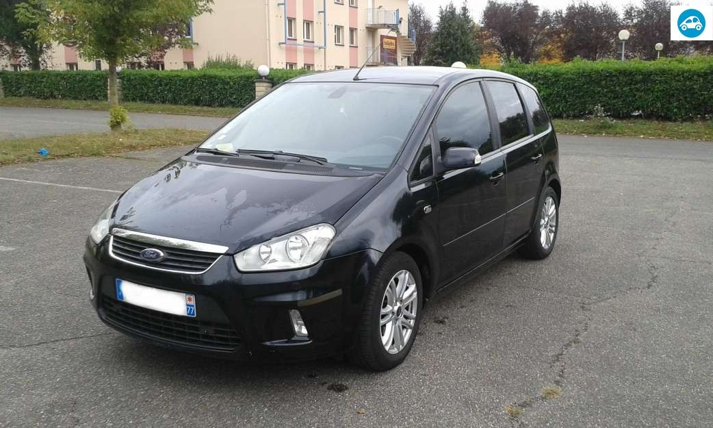 achat ford c max ghia 1 8 tdci 2008 d 39 occasion pas cher 5 000. Black Bedroom Furniture Sets. Home Design Ideas