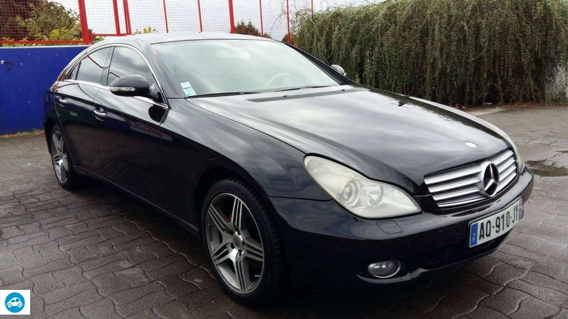 achat mercedes classe cls 320 cdi 2006 d 39 occasion pas cher 15 000. Black Bedroom Furniture Sets. Home Design Ideas