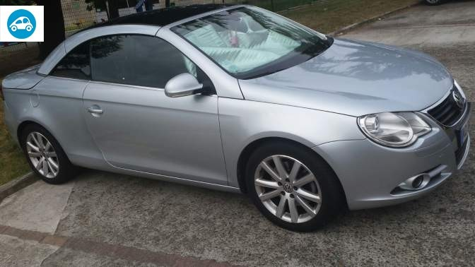 achat volkswagen eos 2 0 tdi sportline 2007 d 39 occasion pas cher 10 000. Black Bedroom Furniture Sets. Home Design Ideas