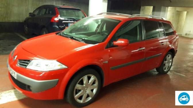 achat renault megane ii 1 9 dci estate 2006 d 39 occasion pas cher 4 200. Black Bedroom Furniture Sets. Home Design Ideas