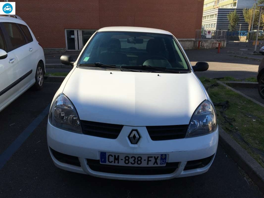 achat renault clio ii campus 1 5 dci 2007 d 39 occasion pas cher 3 200. Black Bedroom Furniture Sets. Home Design Ideas