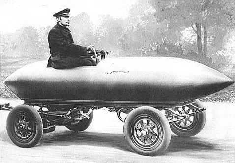 """1er mai 1899 : La voiture électrique """"Jamais Contente"""" pulvérise le record du monde de vitesse"""
