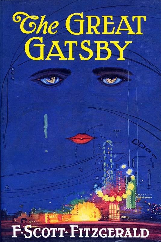 La magnifique couverture du roman, créée par Francis Cugat