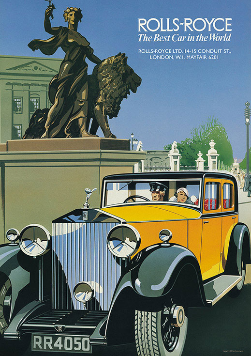 """La Rolls Royce Phantom II Tourer de 1922 qui aurait inspiré Fitzgerald pour """"The Great Gatsby"""""""