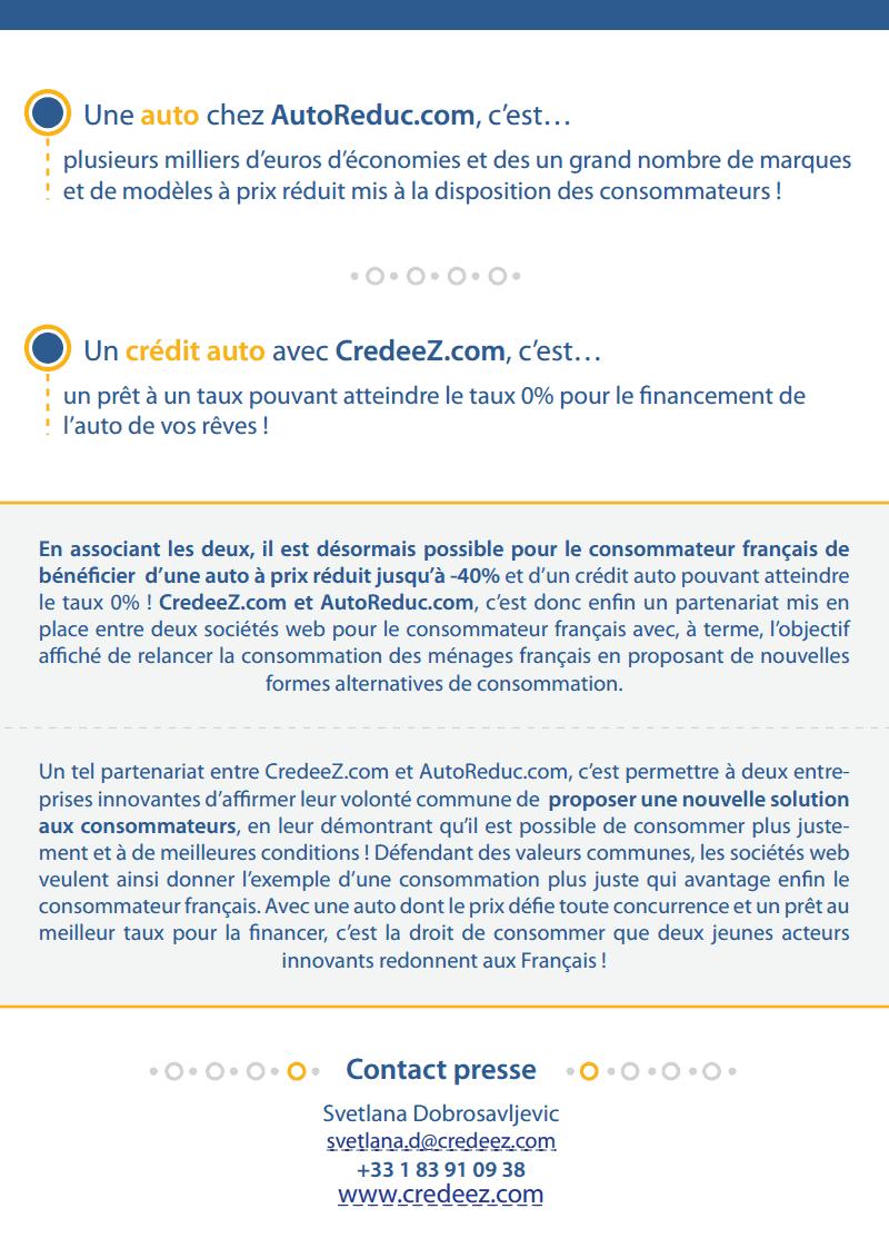 AutoReduc.com s'associe à Credeez.com !-2